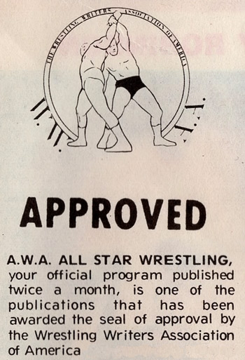 Pro Wrestling Writers Association