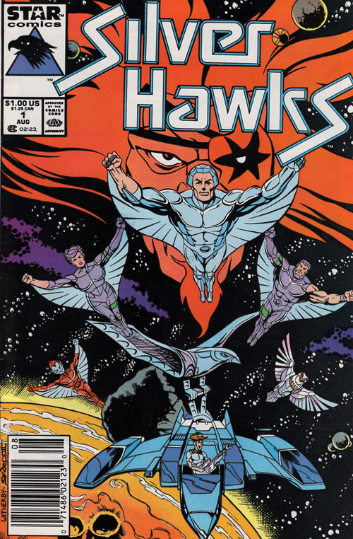 Silverhawks First Issue