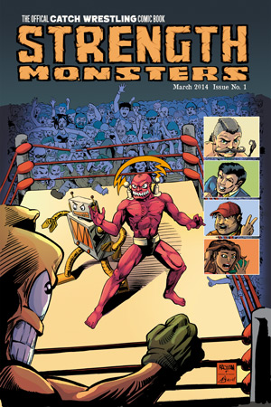 Strength Monsters Cover Issue 1