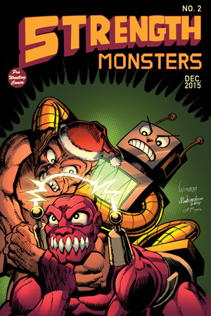 Strength Monsters Cover Issue 2 Christmas