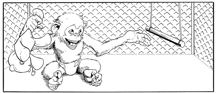 Strength Monsters Monkey Panel 1
