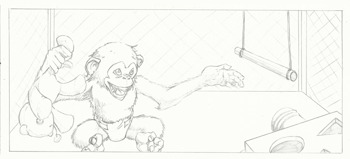Strength Monsters In Monkey Buisness Panel 1